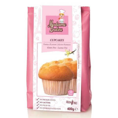 Madame Loulou Glutenvrije cupcakemix - Vanille 400 g