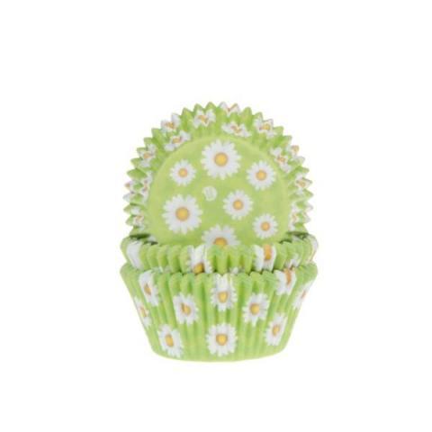 House of Marie Cupcakevormpjes - Madelief 50 stuks