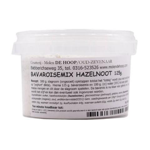 Molen de Hoop Bavaroismix - Hazelnoot 125 g