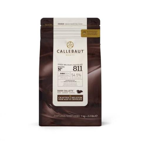 Callebaut Chocolade callets - Puur 1 kg