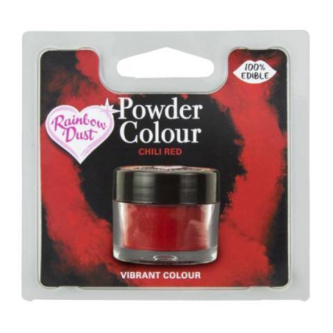 Rainbow Dust Kleurpoeder - Chili red