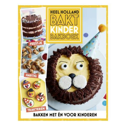 Heel Holland Bakt Kinderbakboek - Diverse - 9789021571737