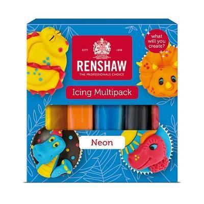Renshaw Rolfondant pro multipack - Neon colours