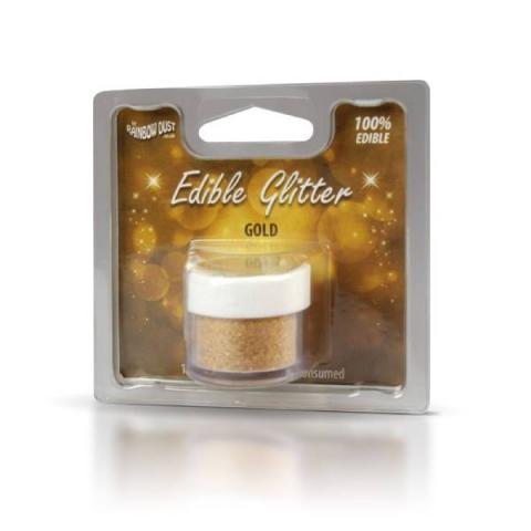 Rainbow Dust Edible glitter - Gold