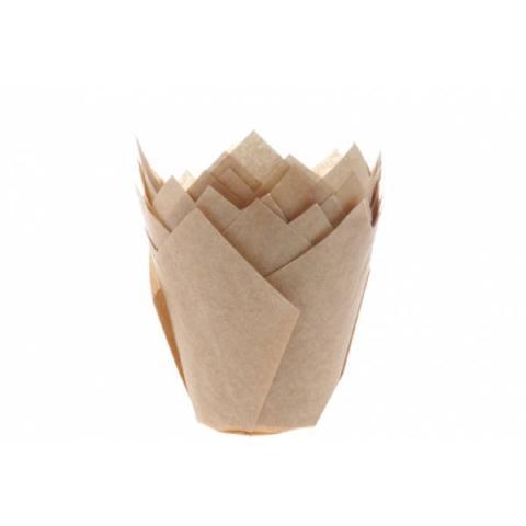 House of Marie Muffin tulp cups - Kraft 36 stuks