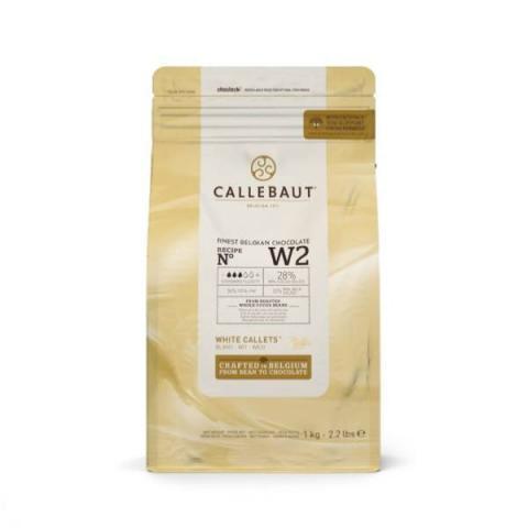 Callebaut Chocolade callets - Wit 1 kg