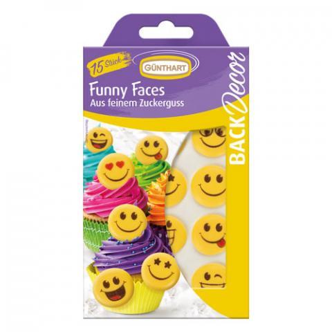 Günthart Suikerdecoratie - Emoji