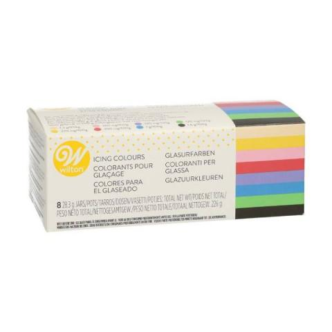 Wilton Icing color kit - 8 x 28 g