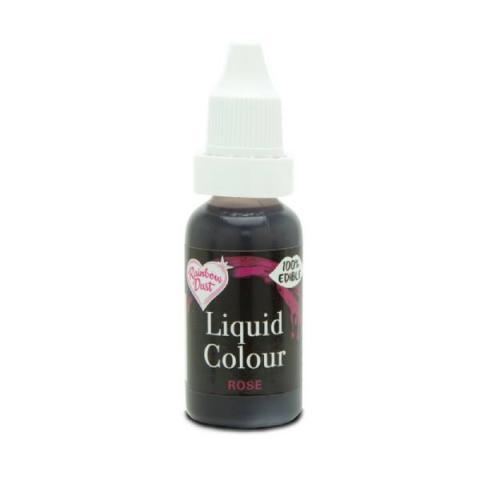 Rainbow Dust Liquid colour - Rose