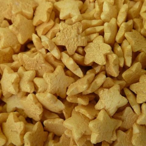 Scrumptious Mini ster - Goud 60 g