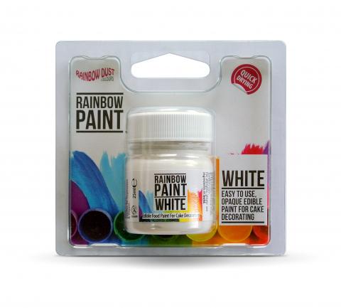 Rainbow Dust Paint It colours - White