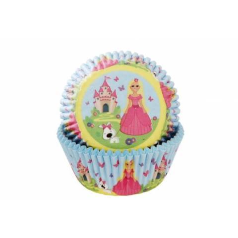 House of Marie Cupcakevormpjes Prinses - 50 stuks