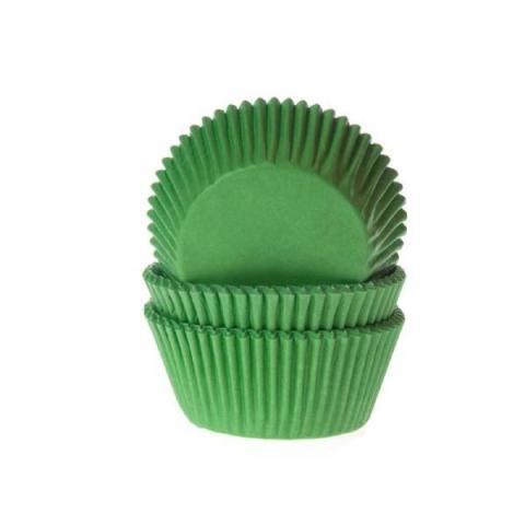 House of Marie Cupcakevormpjes - Grasgroen 50 stuks