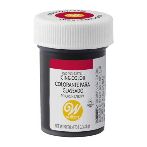Wilton Icing color - Rood zonder smaak 28 g