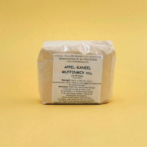 Molen de Hoop - Muffinmix appel-kaneel 500 g