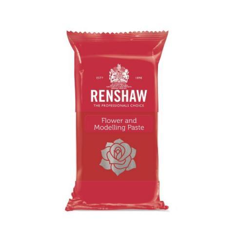 Renshaw Flower & Modelling paste - Carnation red 250 g