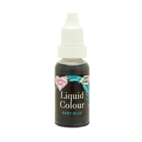 Rainbow Dust Liquid colour - Baby blue