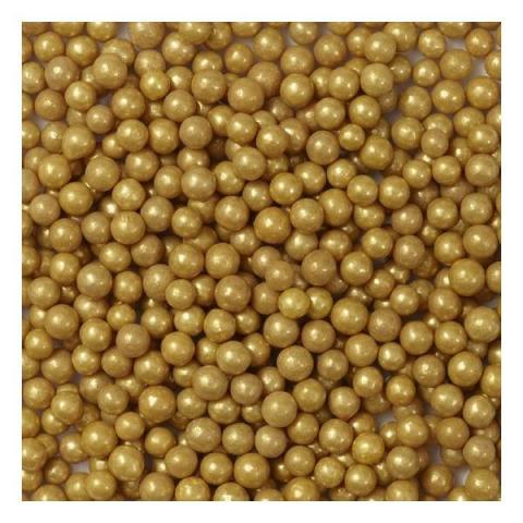 Wilton Sprinkles Suikerparels - Goud 136 g