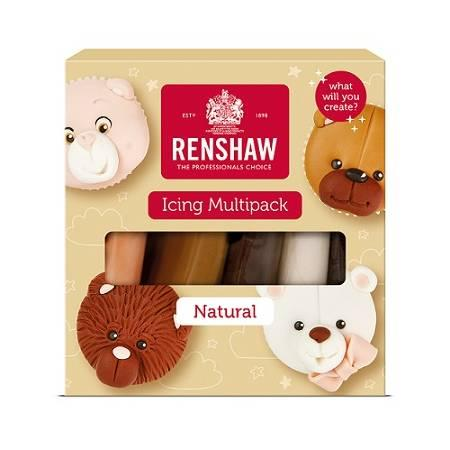 Renshaw Rolfondant pro multipack - Natural colours